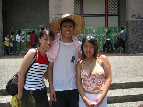 Dong Shan Water Park - Angel, Joey and Me
