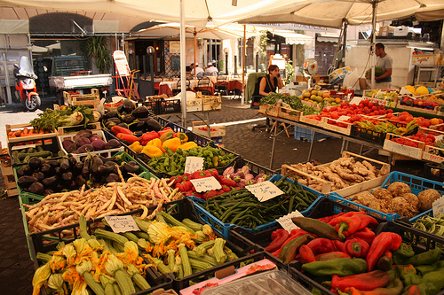 Produce at Campo De'Fiori