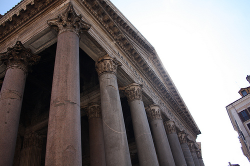 The Imposing Pantheon!