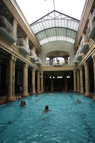Indoor Poor at Gellert Baths