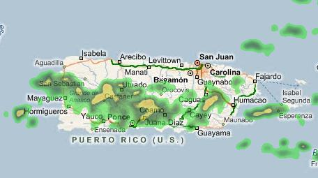 Explore! » Blog Archive » Current Radar Map of Puerto Rico