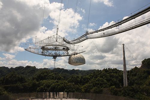 Radio Telescope at Arecibo Observatory