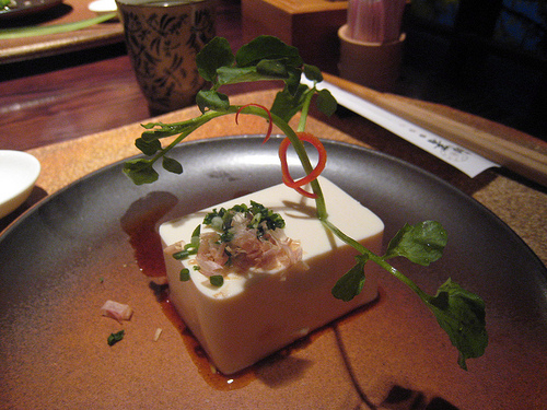 Second Course: Fresh Tofu