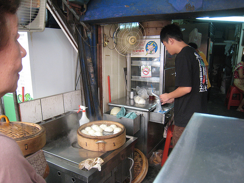 Pork Bun Vendor